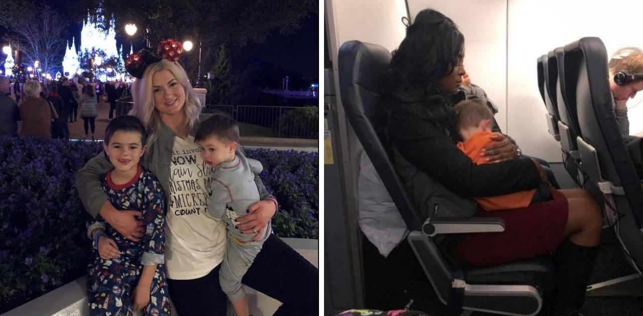 Foto de mulher ajudando mãe desconhecida a cuidar do filho viraliza