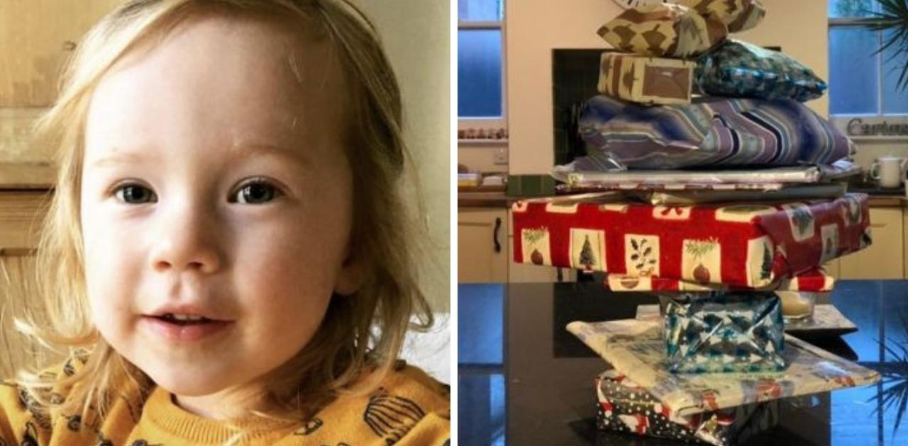 Vizinho idoso deixa 14 anos de presentes de Natal para menina antes de falecer