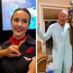 Pai embarca em 6 voos diferentes para passar Natal ao lado de filha aeromoça