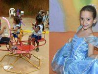 Menina pede para comemorar aniversário com crianças de orfanato