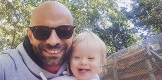 selfie pai filha síndrome de down