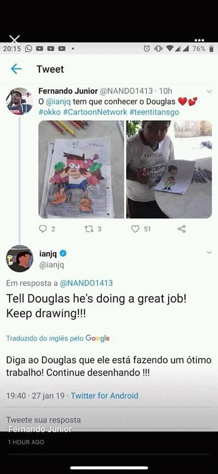 desenhos douglas