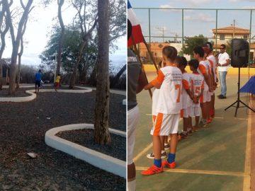 projeto bahia crianças treinos futsal educação socioambiental