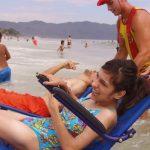 projeto cadeirantes praias florianópolis