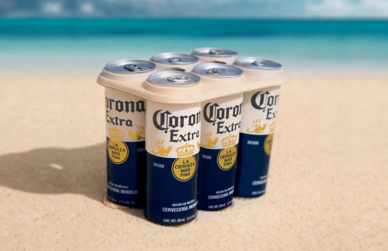 Corona anuncia programa para produzir engradados 100% sem plástico em 2019 1