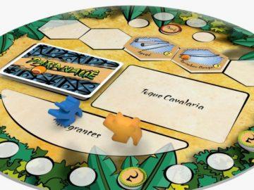 Jovem cria jogo de tabuleiro sobre a história da capoeira