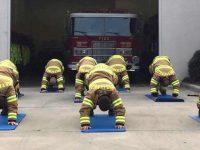 Como um professor de Yoga está salvando bombeiros dos EUA da depressão