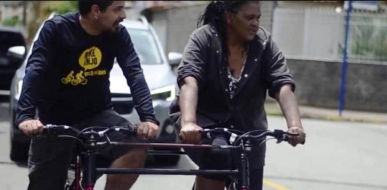 Bicicleta para cegos se torna uma realidade em Volta Redonda