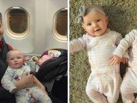 Mulher agradece desconhecida que a ajudou a acalmar filhas gêmeas durante voo