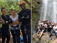 grupo rapel cachoeira salva jovem suicida