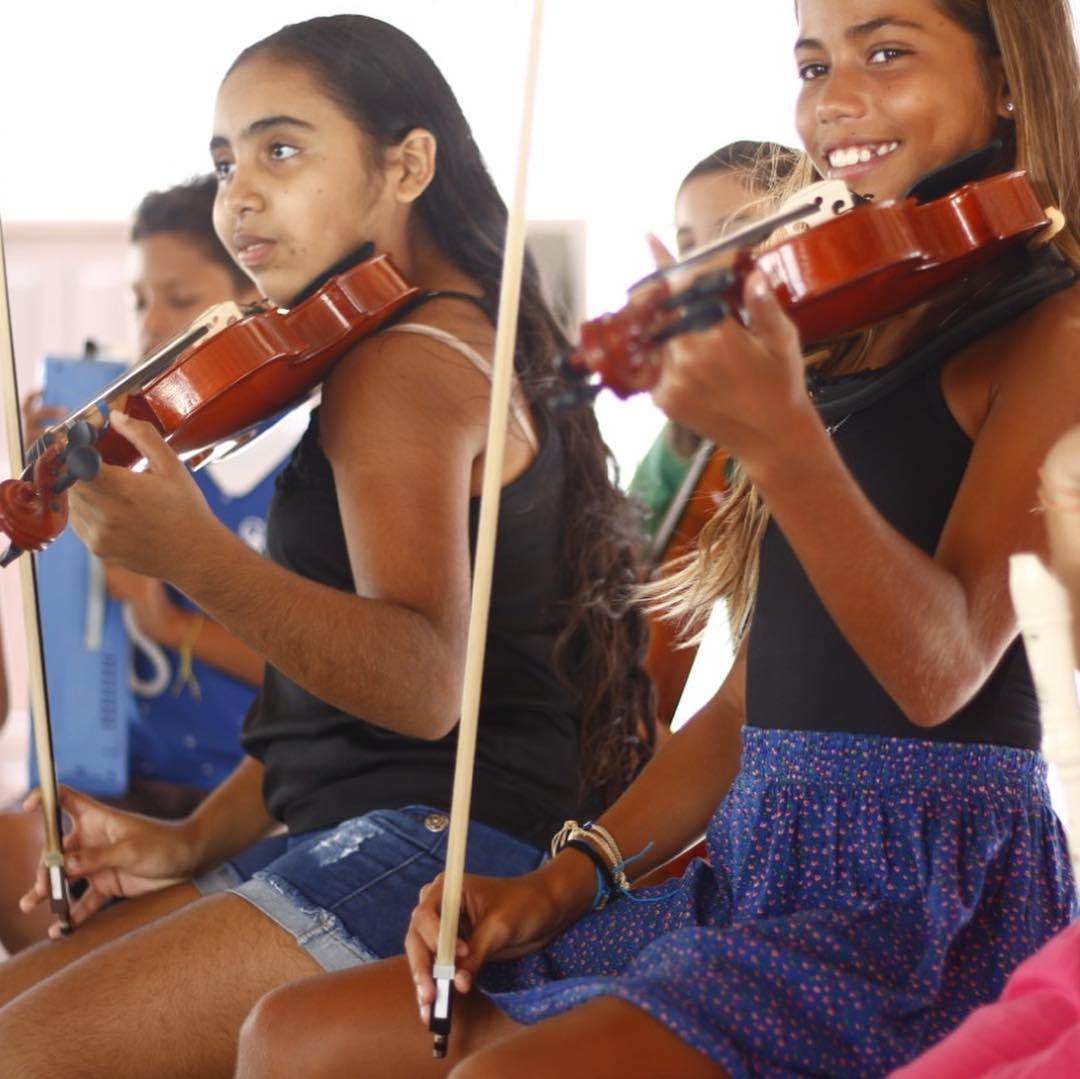 alunas orquestra jeri