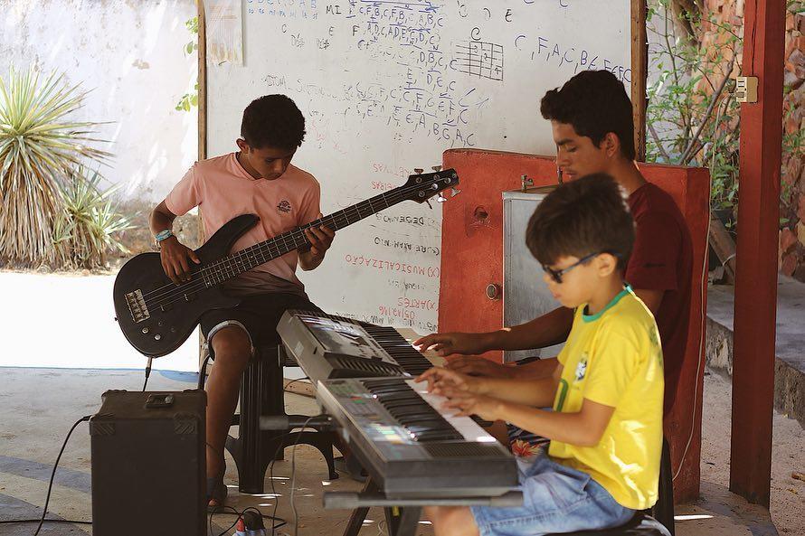 alunos orquestra jeri