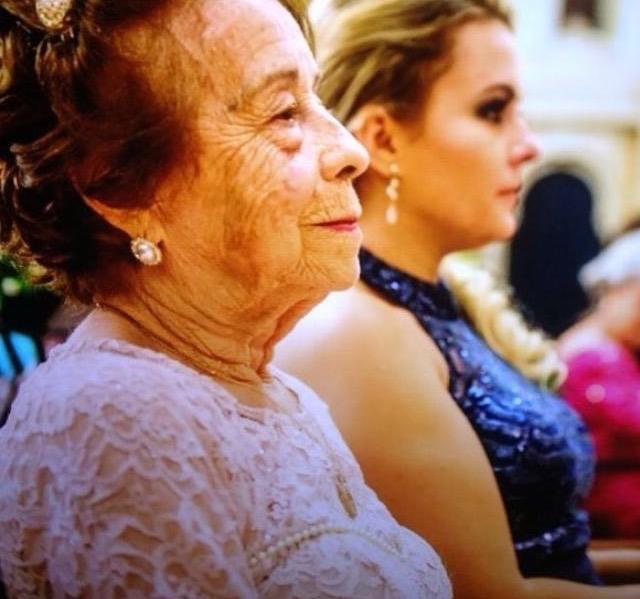 neto convida avó alzheimer daminha casamento