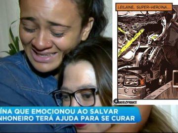 Heroína que salvou motorista de caminhão ganha tratamento contra tumor 1