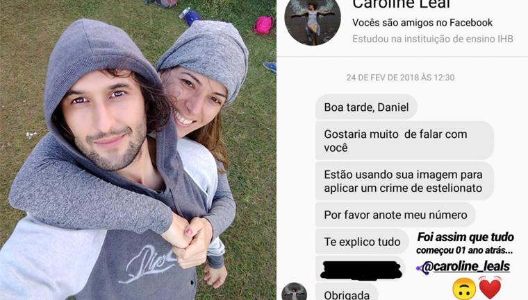 Mulher é vítima de golpe na internet mas ao conhecer o verdadeiro dono das fotos encontra o amor da sua vida 1