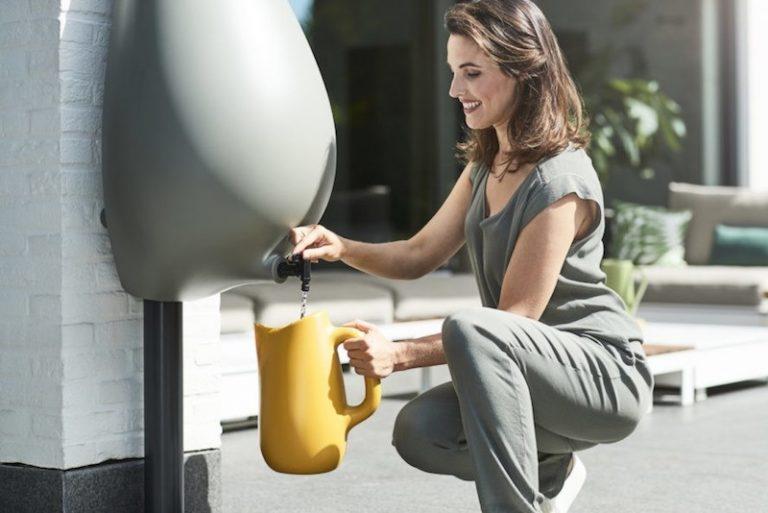 A cisterna em forma de gota que pode ser instalada em qualquer casa para captar água da chuva (sem reformas!) 1
