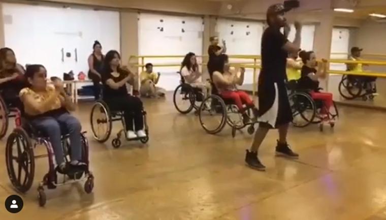 escola dança vagas gratuitas cadeirantes
