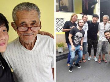 """Youtuber famoso visita Sr. Nilson, o """"vovô do slime"""" para ajudar a monetizar seu canal 3"""