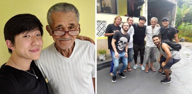"""Youtuber famoso visita Sr. Nilson, o """"vovô do slime"""" para ajudar a monetizar seu canal 1"""