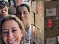 Veterinária catarinense chega a Brumadinho com 300 kg de remédios doados