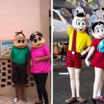Turma da Mônica original visita escola em MG após versão humilde ter virado meme na internet