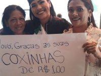Terapeuta conquista diploma no ensino superior vendendo coxinhas