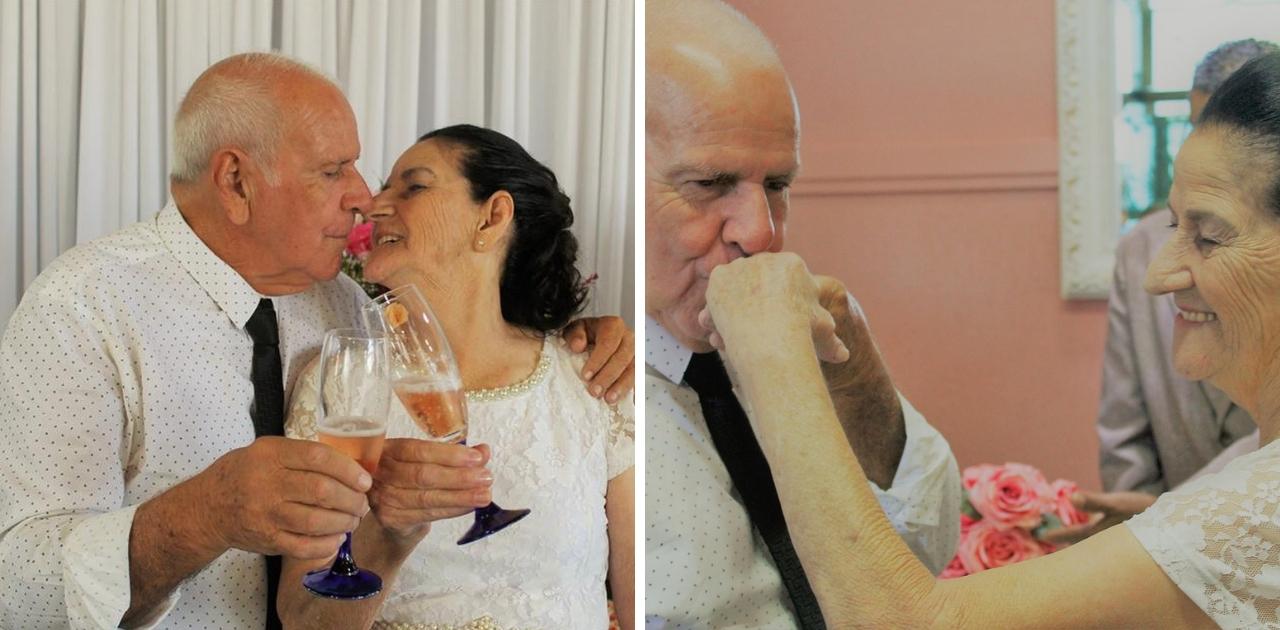 Casal de idosos que se conheceram pelo Tinder: 'Mandei um like e ele curtiu de volta'