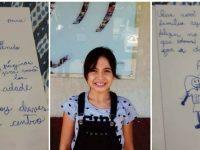 """Menina de 9 anos desenha """"guia"""" de passeios em Jundiaí para amigo venezuelano"""