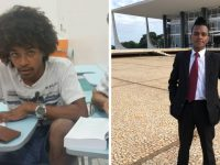 Jovem que viveu cinco anos dormindo na rodoviária de Brasília se forma em Direito