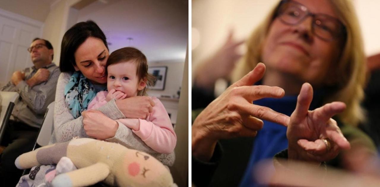 Vizinhança inteira se une para aprender língua de sinais para se comunicar com criança