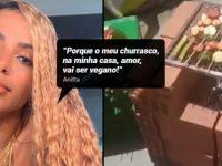 Novo clipe de Anitta, ainda em processo de produção, terá 'churrascão vegano na laje'