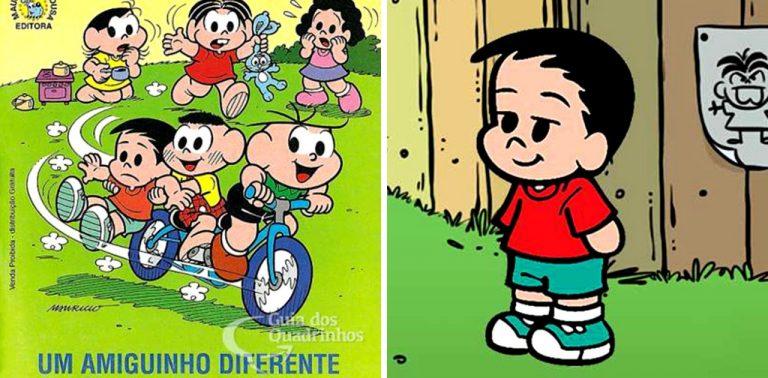 Conheça André, personagem de Turma da Mônica que é autista