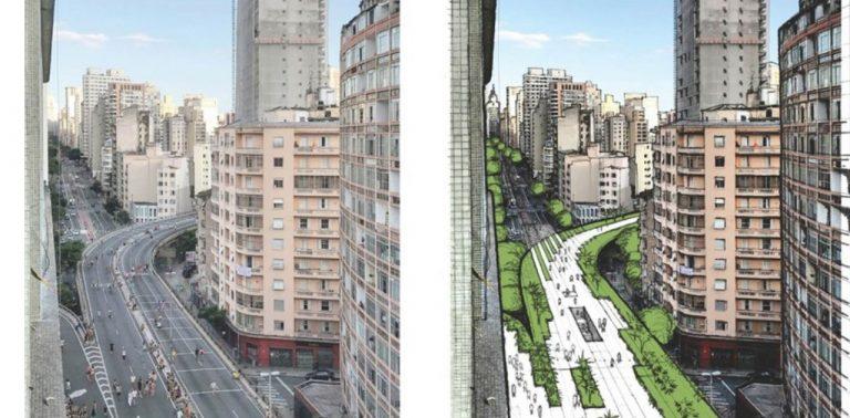 Prefeitura de São Paulo anuncia parque suspenso do Minhocão