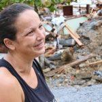 Moradora salva a vida de 10 famílias contra deslizamento de terra de Guaramirim (SC)