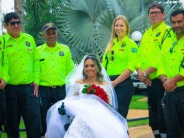 Vítima de grave acidente mobiliza internet para realizar sonho de casar