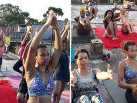 mulheres capão redondo yoga