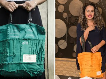 marca reutiliza sobras tecidos iriam lixo
