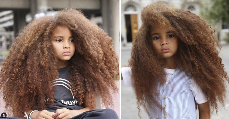 Garoto de 7 anos vira sensação ao trazer cabelo afro para o centro da moda 1