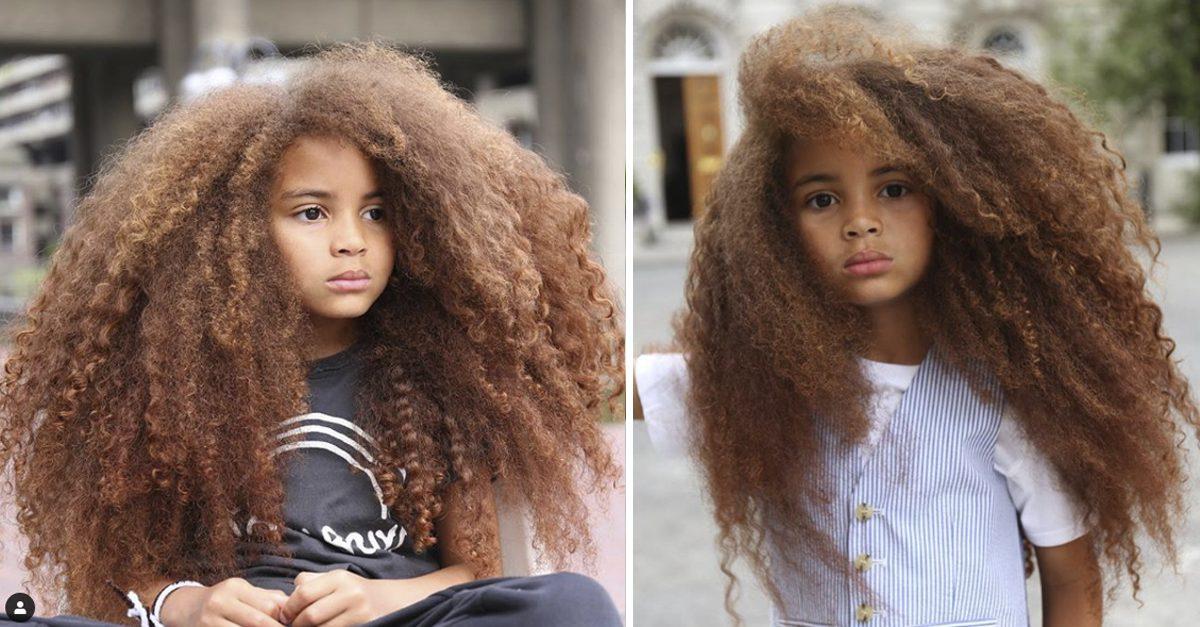 Garoto de 7 anos vira sensação ao trazer cabelo afro para o centro da moda 3