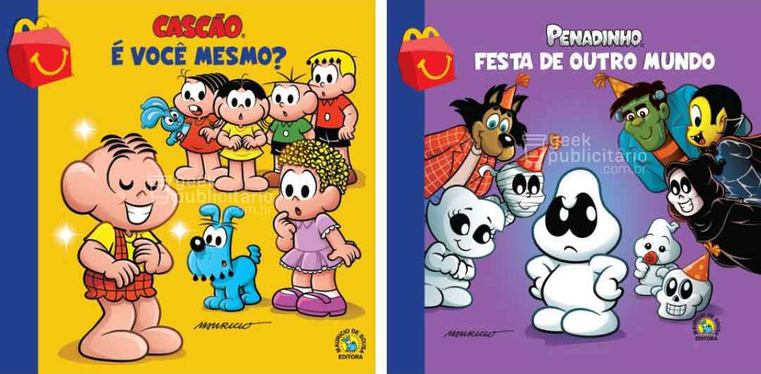 McDonald's lança nova coleção de livros da Turma da Mônica em McLanche Feliz
