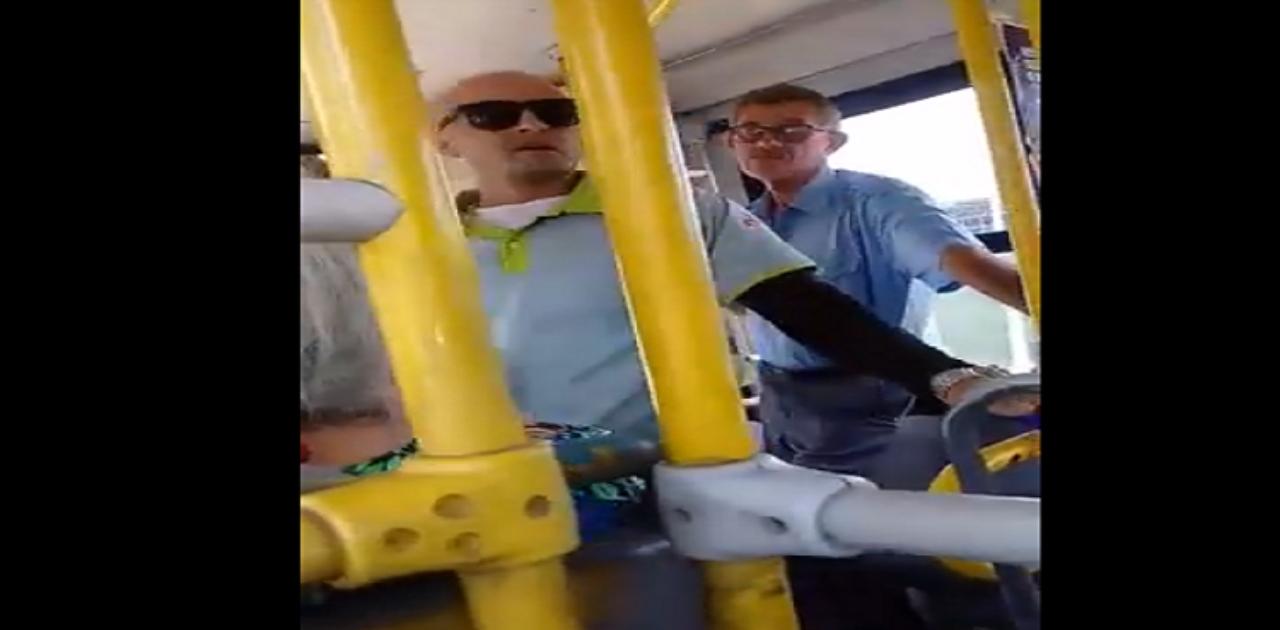 Motorista de ônibus interrompe viagem para socorrer passageira em Petrolina (PE)