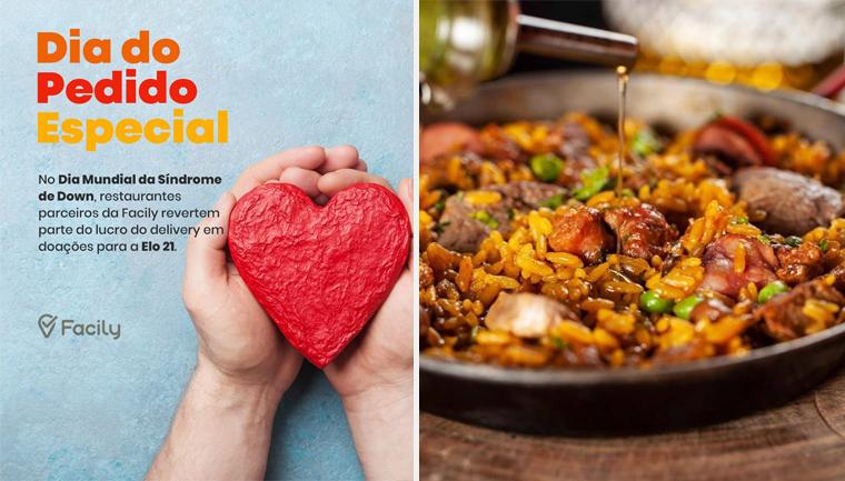 aplicativo restaurantes paulistanos doações síndrome down