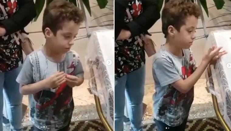 menino 6 anos fala velorio mae