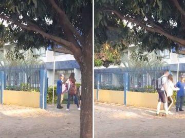 Porteiro vira sucesso após gesto de gentileza em escola em Sinop, no Mato Grosso 2