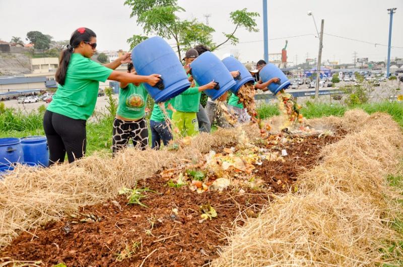 projeto compostagem