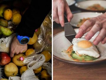 projeto transforma alimentos iriam lixo pratos alta gastronomia