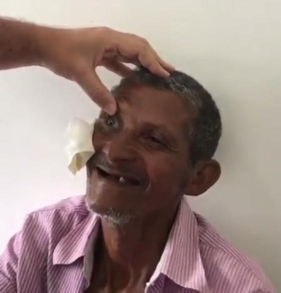 médico realiza mutirões cirurgias catarata gratuitas cidade natal