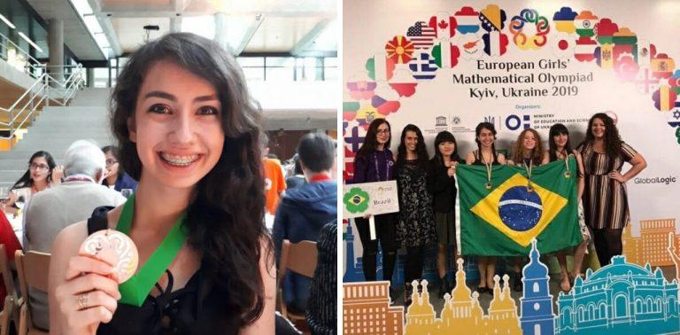 Brasileira de 17 anos ganha medalha de ouro na Olimpíada Europeia de Matemática