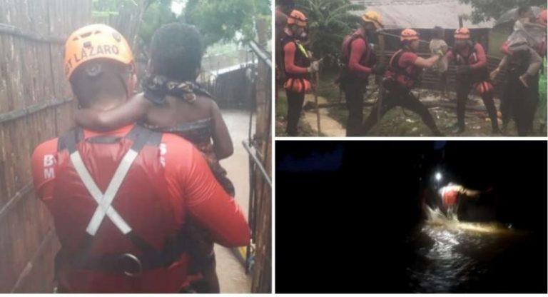 Após segundo ciclone, bombeiros de Minas salvam mais de 100 pessoas em Moçambique