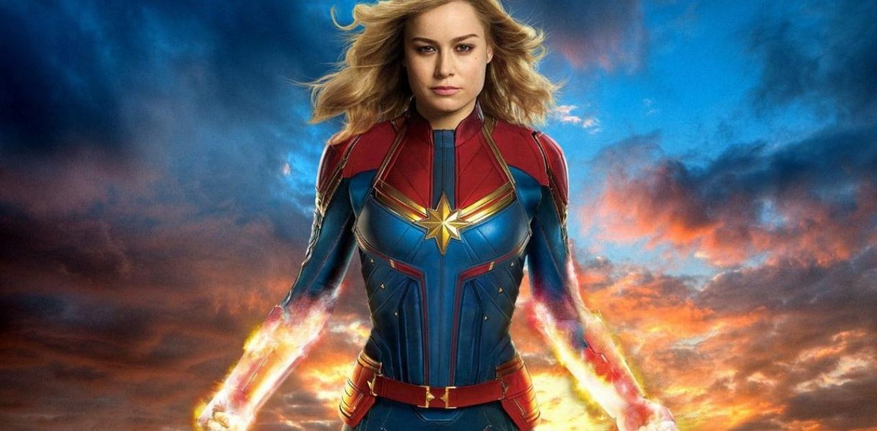 Capitã Marvel é a primeira super-heroína a fazer US$ 1 bilhão nas bilheterias mundiais